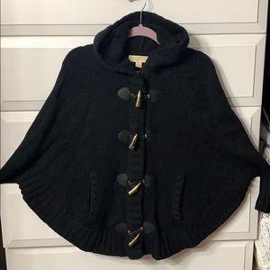 Michael Kors Hooded black Sweater/Jacket